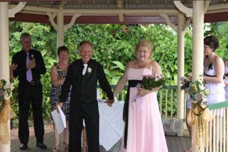 elegant marriage ceremony