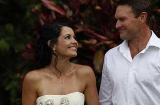 romantic marriage ceremony
